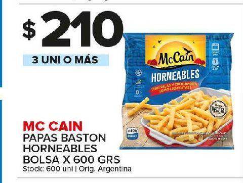 Oferta de Papas fritas congeladas Mc Cain por $210