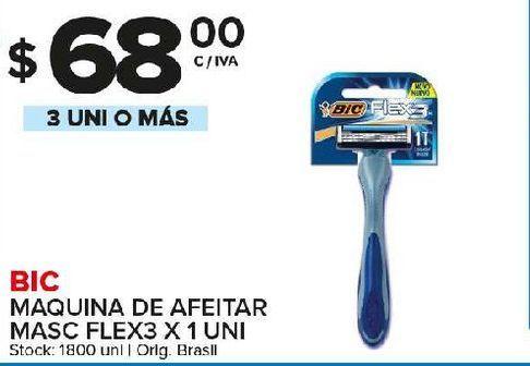 Oferta de Maquina de afeitar descartable BIC por $68