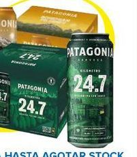 Oferta de Cerveza Patagonia por
