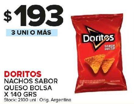 Oferta de Nachos Doritos por $193