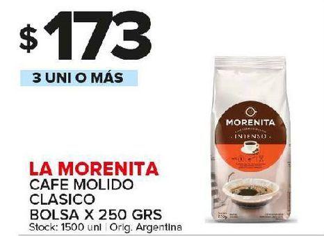 Oferta de Café molido La Morenita por $173
