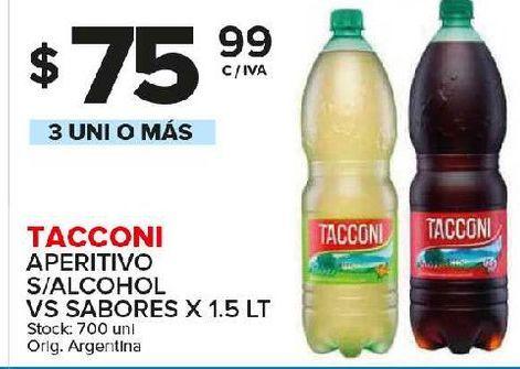 Oferta de Aperitivos Tacconi por $75,99