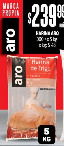 Oferta de Harina Aro  por $239,99