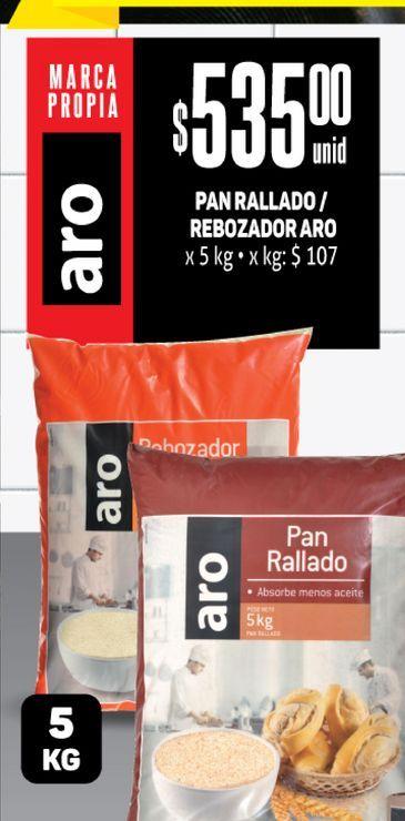 Oferta de Pan rallado Rebozador Aro por $535
