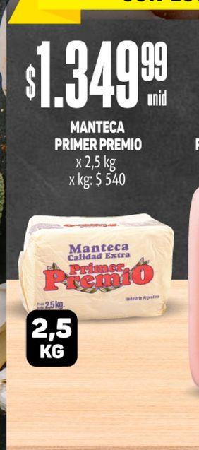 Oferta de Manteca Primer Premio  por $1349,99