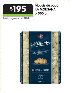 Oferta de Ñoquis de papa LA MOLISANA x 500 gr por $195