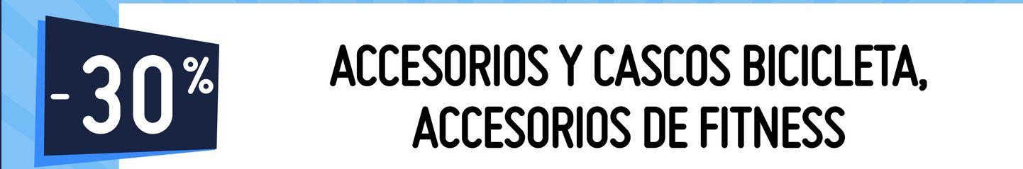 Oferta de ACCESORIOS Y CASCOS BICICLETA, ACCESORIOS DE FITNESS por